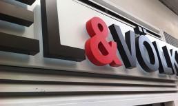 Letras corpóreas fabricadas en aluminio y retroiluminadas mediante leds by Aplikados