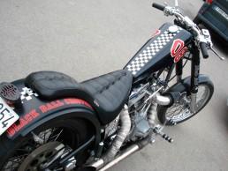 rotulación de motocicleta Harley Davidson para particular en Valencia