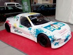 Rotulación integral de coche de competición, Aplikados